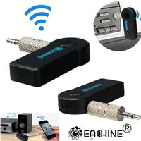 mobile phone speaker - Best Promotion Universal mm Streaming Car A2DP Wireless Bluetooth AUX Audio Music Receiver Adapter with Mic For Phone MP3