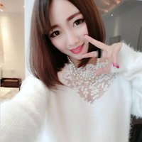 chain link fence - Women New Fashion Knitting Chain Link Fence Long Sleeve Crew Neck Causal Hollow Out Sexy Loose Fashion Pullover Sweater Christmas Arrival