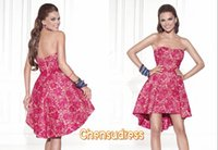 apple sunshine - Hot Sale New Arrival Sweet Sexy Sunshine Homecoming With Strapless Sleeveless Short Backless Custom Made Homecoming Cocktail Dress