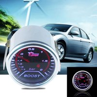 acrylic indicator - Car Universal Smoke Len quot mm Bar Turbo Indicator Boost Bar Gauge Meter MTY3