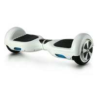 Wholesale USA Stock Warranty Inch Wheels Smart Self Balancing Hoverboard Electric Scooter Skateboard with LG Battery UL Certified White