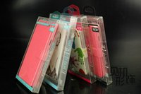 Wholesale PVC Retail Package Box Universal Empty Cell Phone Boxes Case for iPhone Samsung S4 S5 Note