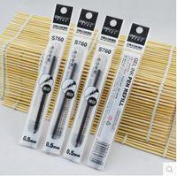 Wholesale premium eco friendly bullet tip mm gel pen refill high quality excellent writing hot sale Deli S760