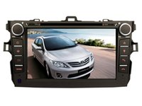 Toyota best radio control cars - 2017 new Wince OS best selling car dvd Gps player for TOYOTA corolla bluetooth navi camera steering wheel control radio