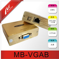 Wholesale Passive VGA Balun VGA Extender VGA Transmission over cat5e