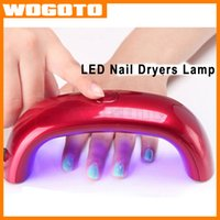 Wholesale Fast Nail Dryer LED Nail Lamp W USB Mini Curing LED Lamp UV Gel Nail Polish Electric Nail Rainbow Shaped Machine High Quality