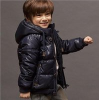 Wholesale New coltsfoot European children s clothing children boy down jacket fashion boy s thicken casual clothes
