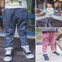 Wholesale Snow Korean Fashion - 2015 Autumn New Arrival Children Casual Pants Korean Style Boys Snow Trousers Fashion Clothing For Kids Fit 1-5 Age 80-110 6Pcs lot SS475