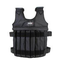Wholesale Hot Max Loading kg Weighted Vest Adjustable Weight Jacket Exercise Boxing Training Waistcoat Invisible Sand Clothing Empty