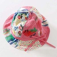 flower bucket hats - Flower Bucket Hat Caps Hats Baby Girls Caps Kids Hat Children Caps Sun Hat Beanie Hat Caps Girls Hats Kids Cap Wide Brim Hats C2328
