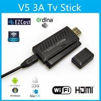 Wholesale High Quality Miracast Dongle HDMI P Android TV Stick DLNA Airplay WiFi Display Receiver for Mobile Tablet PC V679