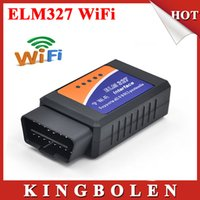 Wholesale 2015 High Quality Years Warranty ELM327 OBD Auto Scan Tool ELM Wifi Supports Android and For iOS ELM327