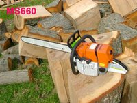 Wholesale Fast MS CC MS660 Chain Saw Robust Power Guide Bar Power Chain Saw MS070 also Available Chain Saw Factory