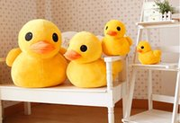 big rubber duck - New Style CM Rubber Duck kid Stuffed Plush Toys for Christmas new year gift Via DHL