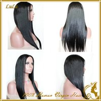 cheap wigs - 2015 cheap brazilian full lace wigs kinky straight unprocessed virgin hair front lace wigs natural color with natural hairline