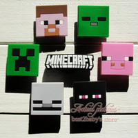shoe charms - Lovely Minecraft MC My World Hot Gmes PVC Shoe Charms Fit Jibbitz pvc Shoe Accessories Decoration for bracelets kids gifts