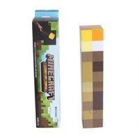 Wholesale Light Up Minecraft Torch LED Minecraft Light Up Torch Hand Held or Wall Mount
