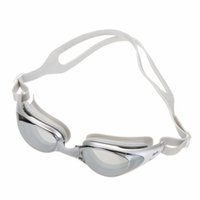 Wholesale Professional Anti fog Waterproof Swim Glasses and UV Protection HD Silicone Adult Swimming Goggles With Box
