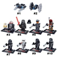 Wholesale 2016 Hot sale Building Blocks Star Wars The Force Awakens Styles Set Collection Darth Vader Mini Figures Model Toys Bricks