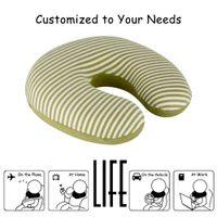 best memory foam pillow - On sale Original Cotton Cover Langria U Shape Memory Foam Travel Neck Pillow Superior Comfort Best Memory Foam Pillows