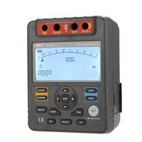 Wholesale UNI T UT511 Digital Insulation Resistance Testers Meter Megohmmeter Low Ohm Ohmmeter Voltmeter Auto Range V