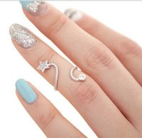 Cheap Fashion ring Knuckle Ring many styles Band Midi Ring Urban Gold stack Plain Cute Above Knuckle Ring
