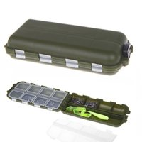 Cheap Fishing Accessories 8 Compartments Storage Case Fly Fishing Lure Spoon Hook Bait Tackle Box