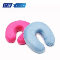 Wholesale Drop Shipping Novelty versatile memory foam pillow Neck massage Travel healthy pillows