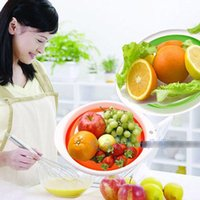Wholesale Multi function Folding Basket Candy Fruit Bowl Dessert Serving Dish