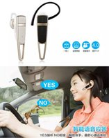 Wholesale Mini Wireless Handsfree Stereo Bluetooth Music Headset Universal Ear Hook Earphone Smart Voice Response For iPhone Galaxy Note S5