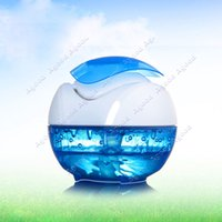 usb aroma humidifier - New USB Portable Mini Water Humidifier Air Diffuser Aroma Mist Maker Blue SV000646
