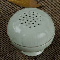 Wholesale Vintage antique ceramic incense burner Buddhist Taoist Supplies ceramic vintage censer CL060