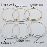 bead wire jewelry - Woman Metal Bracelets Hot Alex Ani k Gold silver planted Fashion Jewelry Wiring Bracelet For Alex And Ani Expandable Bangles