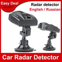Wholesale Super Car Radar Detector Russian English Voice Speed Control Detector For Car Vehicle