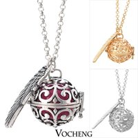 Wholesale Pregnancy Ball Bola Colors Angel ball in Pendants Baby Chime Necklace VA Vocheng Jewelry