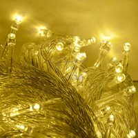 Wholesale Warm White M LED String Lighting Wedding Fairy Christmas Lights Outdoor Twinkle Decoration Tree Lights for New Year Party