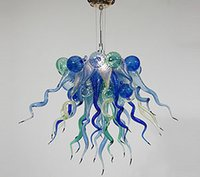 artistic lighting design - CE UL Mouth Blown Dale Chihuly Chandeliers Borosilicate Murano Glass Popular Design Artistic Glass Living Room Lighting