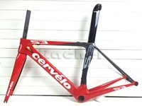 cervelo s3 - road bike red carbon cervelo s3 full glossy matte carbono fiber bicycle frameset frame fork seatpost clamp headset BBright is available