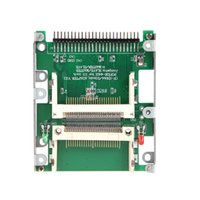 cf to ide adapter - 2 quot Dual CF Compact Flash to pin IDE Male Adapter Converter
