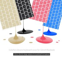 antibacterial keyboards - Thickness mm Liquid antibacterial silicone keyboard cover skin protector for macbook