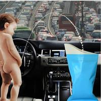 Wholesale Car use Unisex deodorant disposable outdoor Travel use Urine bag vomit sick bags miniature toilet