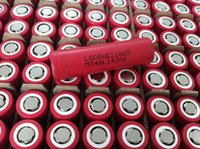18650 battery - Genuine lg battery cells LG HE2 mah amp18650 box mod battery with flat top