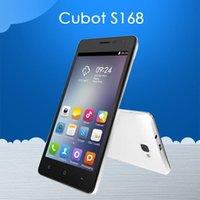 Cubot originale S168 Android 4.4 MTK6582 Quad Core Smartphone Android 5.0 '' schermo IPS 1GB di RAM 8GB di ROM OTG Spagna Magazzino Telefono