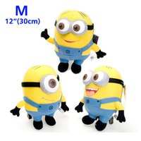 Wholesale Despicable ME Movie Plush Toys D Eye Minions Jorge Stewart Dave Stuffed Doll cm quot inch Middle Size