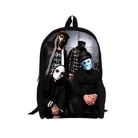 fancy bags - fashion hollywood undead school bag for boy cool fancy children school backpack teenagers retail cartoon printing backpack