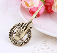 big game products - 10pcs New Arrival Hot Selling Song of Ice and Fire Game of Thrones Hand Of The King Pin Brooch