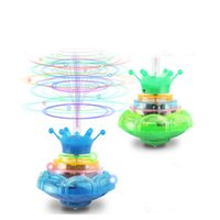 Wholesale Luminous Spinning Top Kid Toy Fun Classic Beyblade Luminous Gyros Children s Glow Toy Music Gyro Electric Toys Gyroscope Juguetes Brinquedos