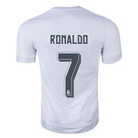 footballs - Whosales Discount Madridds Jersey Football Jersey Realls football Shirt Ronaldo Bale James Soccer Jerseys Uniforms