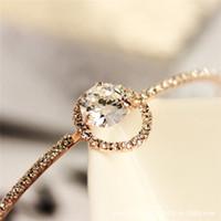 acrylic bangles manufacturers - jewelry manufacturers Rose Jinhan Guo fine diamond CZ Bangle Bracelet bracelet Korean female Valentine s Day section