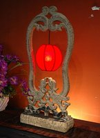 antique entrance - Chinese antique home accessories crafts entrance Lighting bedside lamp exquisite table lamps